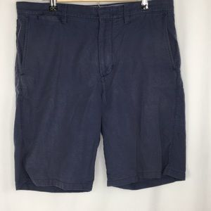 J Crew Club Mens 34 Chino Shorts Navy blue
